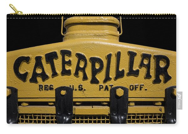 1929 Caterpillar Baby Dozer Grill Carry-all Pouch