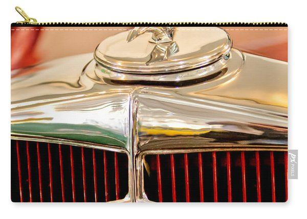 1932 Studebaker Dictator Custom Coupe Hood Ornament - Emblem Carry-all Pouch