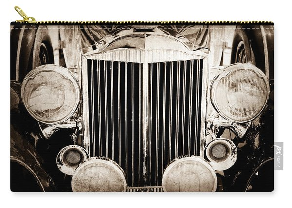 1933 Packard 12 Convertible Coupe Classic Car Carry-all Pouch