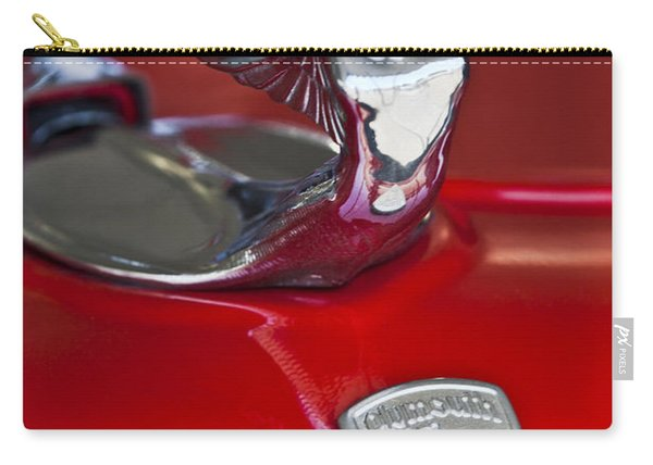 1933 Plymouth Hood Ornament Carry-all Pouch