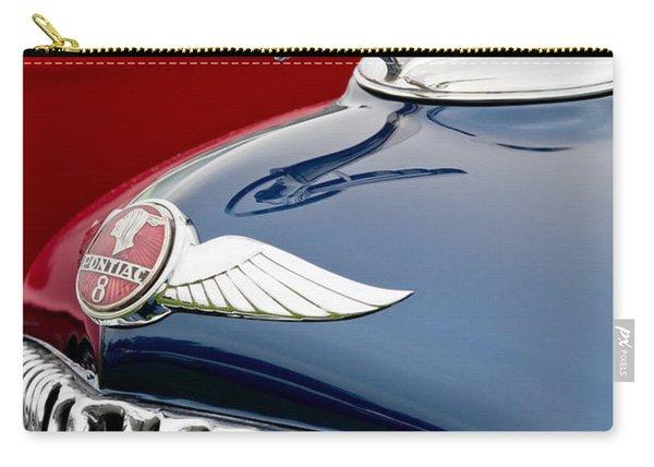 1933 Pontiac Street Rod Hood Ornament Carry-all Pouch