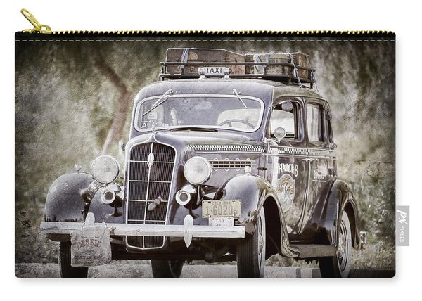 1935 Plymouth Taxi Cab -568ac Carry-all Pouch
