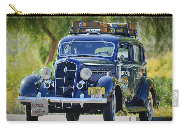 1935 Plymouth Taxi Cab Carry-all Pouch