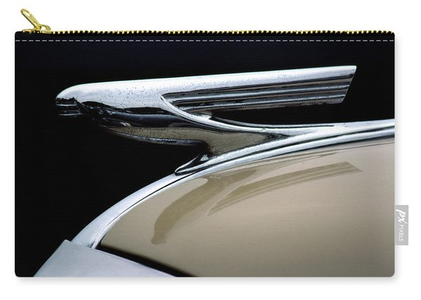 1937 Chevrolet Hood Ornament Carry-all Pouch