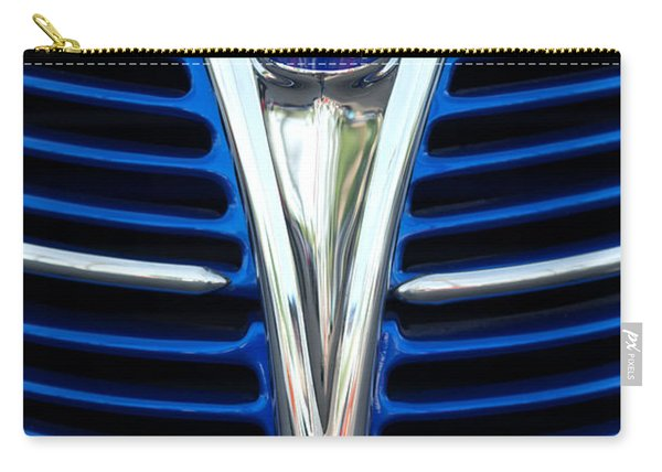 1939 Ford Woody Wagon Grille Emblem Carry-all Pouch