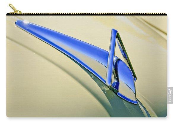 1949 Hudson Super Six  Hood Ornament Carry-all Pouch