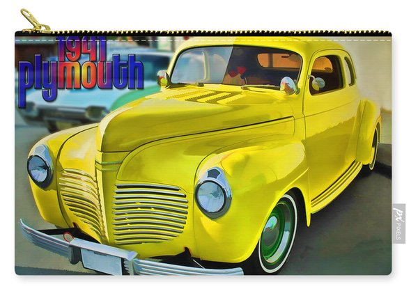 1941 Plymouth Carry-all Pouch