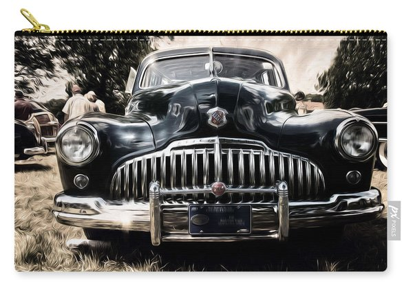 1946 Buick Estate Wagon Sepia Tone Carry-all Pouch