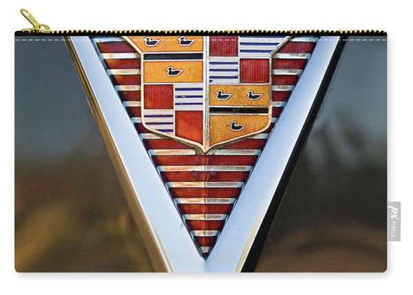1947 Cadillac Emblem Carry-all Pouch