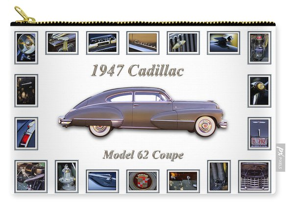 1947 Cadillac Model 62 Coupe Art Carry-all Pouch