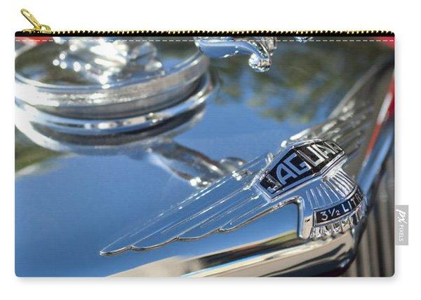 1948 Jaguar Mark Iv Drophead Coupe Hood Ornament Carry-all Pouch