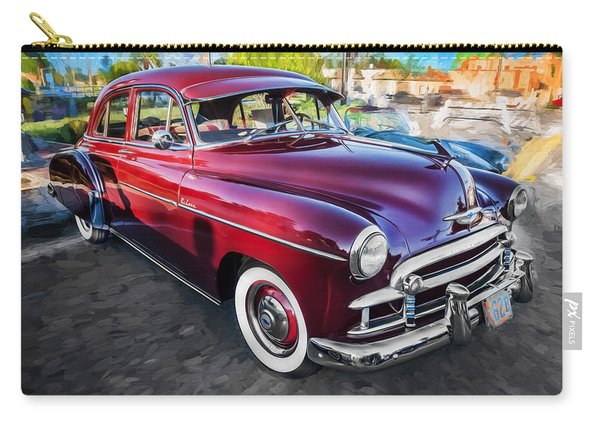 1950 Chevrolet Sedan Deluxe Painted  Carry-all Pouch