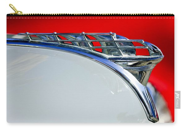 1950 Plymouth Hood Ornament 3 Carry-all Pouch