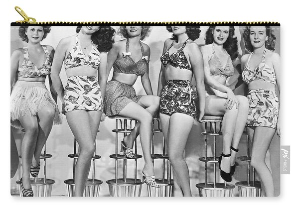 1950s Bathing Suits Carry-all Pouch