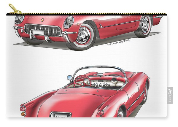 1953 Corvette Carry-all Pouch
