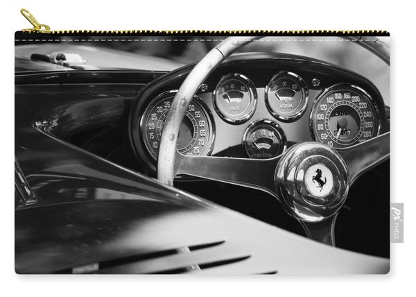 1954 Ferrari 500 Mondial Spyder Steering Wheel Emblem Carry-all Pouch