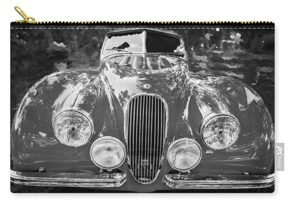 1954 Jaguar Xk 120 Se Ots Bw Carry-all Pouch