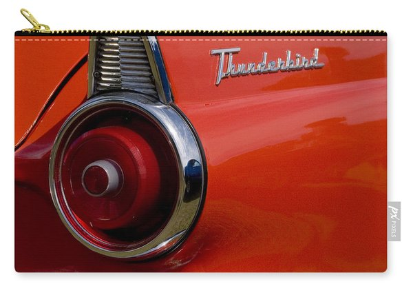 1955 427 Thunderbird Tail Light Carry-all Pouch