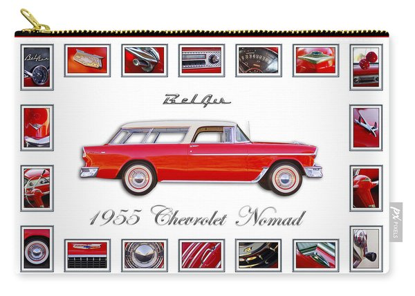 1955 Chevrolet Belair Nomad Art Carry-all Pouch