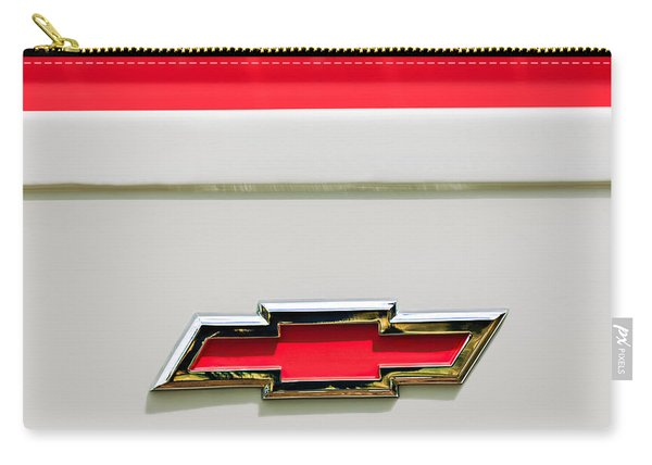 1955 Chevrolet Cameo Pickup Truck Emblem Carry-all Pouch