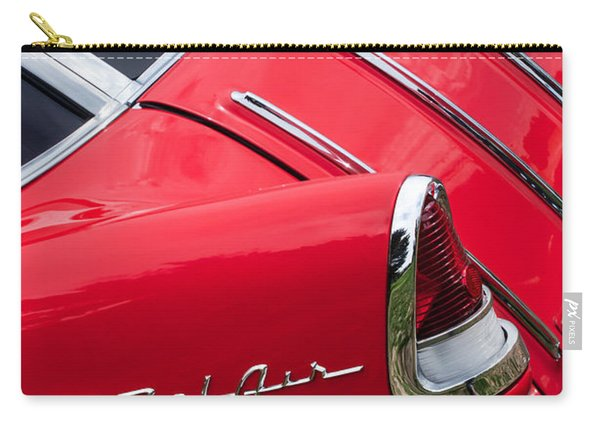 1955 Chevrolet Nomad Wagon Taillight Emblem Carry-all Pouch