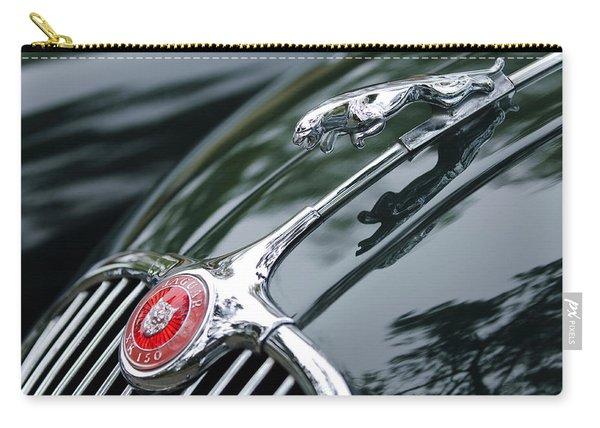 Jaguar Xk 150 Hood Ornament  Carry-all Pouch