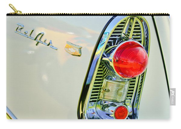 1956 Chevrolet Beliar Nomad Taillight Emblem Carry-all Pouch