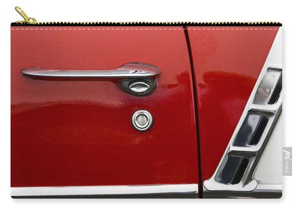 1956 Chevy Door Detail Carry-all Pouch