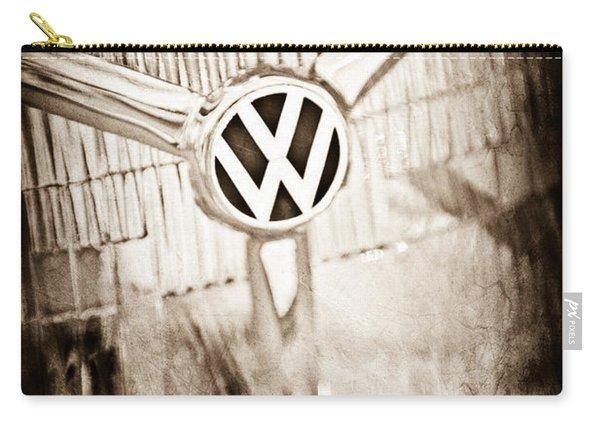 1956 Volkswagen Vw Headlight Emblem Carry-all Pouch