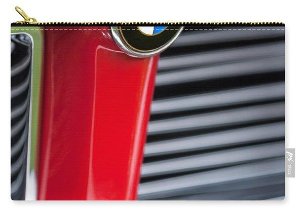 1958 Bmw 3200 Michelotti Vignale Roadster Grille Emblem -2414c Carry-all Pouch