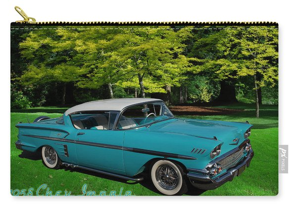 1958 Chev Impala Carry-all Pouch