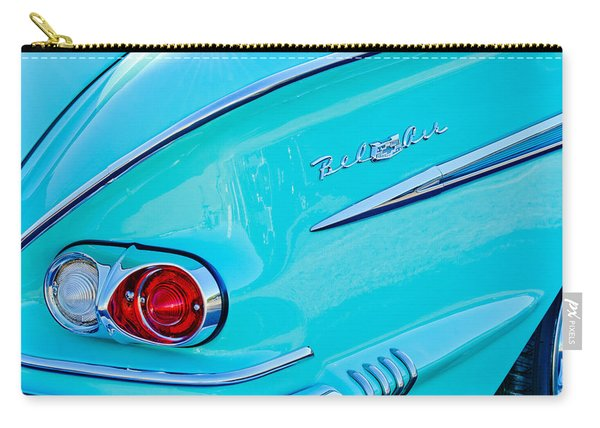 1958 Chevrolet Belair Taillight 2 Carry-all Pouch