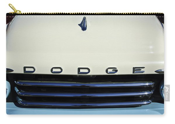 1958 Dodge Sweptside Truck Grille Carry-all Pouch