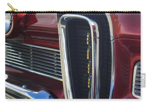 1958 Edsel Pacer Grille 2 Carry-all Pouch
