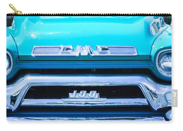 1958 Gmc Series 101-s Pickup Truck Grille Emblem Carry-all Pouch