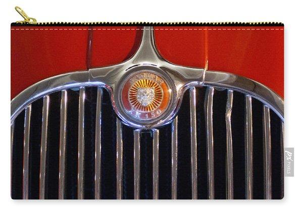 1958 Jaguar Xk150 Roadster Grille Emblem Carry-all Pouch
