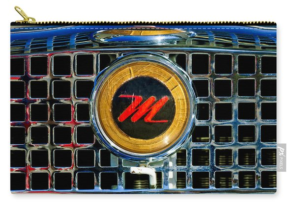 1958 Nash Metropolitan Hood Ornament 3 Carry-all Pouch