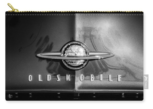 1958 Oldsmobile Grille Emblem -0236bw Carry-all Pouch