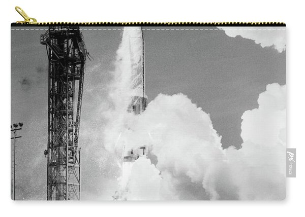 1960s Missile Taking Off From Launch Pad Carry-all Pouch