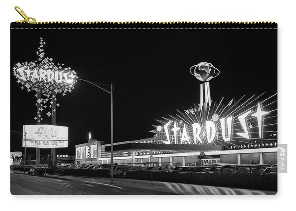 1960s Night Scene Of The Stardust Carry-all Pouch