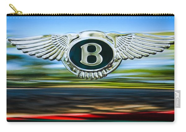1961 Bentley S2 Continental Emblem Carry-all Pouch