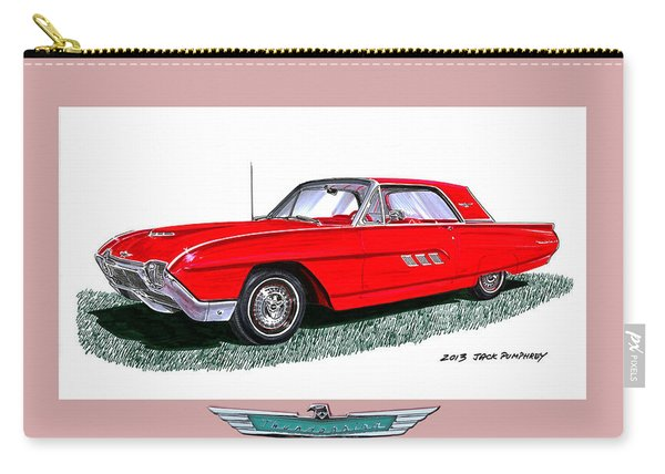 1963 Ford Thunderbird Carry-all Pouch