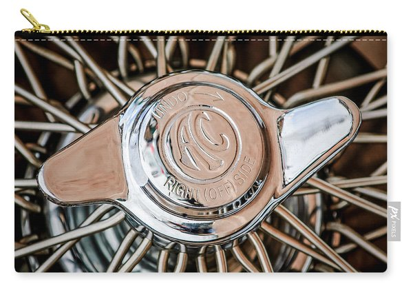 1964 Shelby 289 Cobra Wheel Emblem -0666c Carry-all Pouch