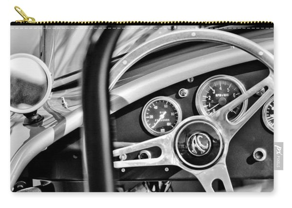 1965 Ac Cobra Steering Wheel Carry-all Pouch