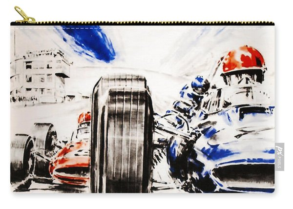 1965 Grand Prix De Paris Carry-all Pouch