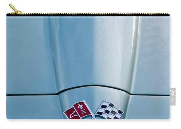 1966 Chevrolet Corvette Coupe Hood Emblem Carry-all Pouch
