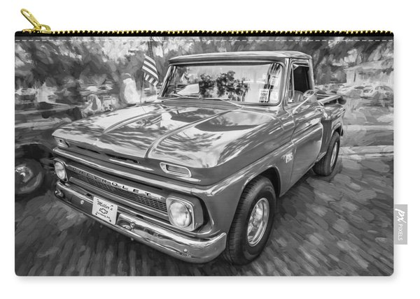 1966 Chevy C10 Pick Up Truck Painted Bw Carry-all Pouch