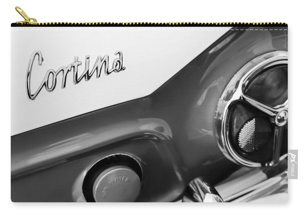 1966 Lotus Cortina Mk1 Taillight Emblem Carry-all Pouch