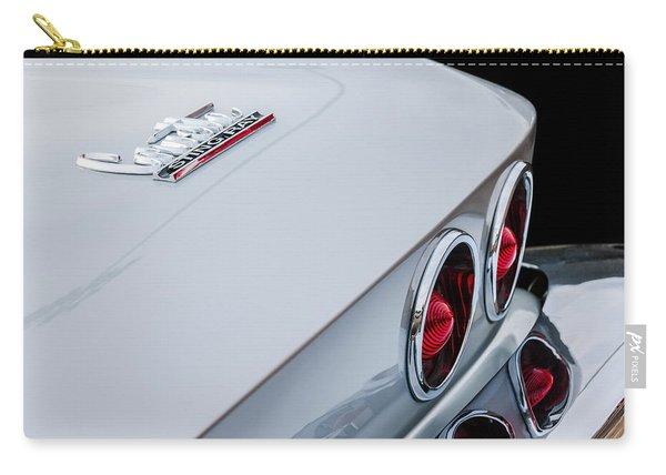 1967 Chevrolet Corvette Coupe Taillight Emblem Carry-all Pouch