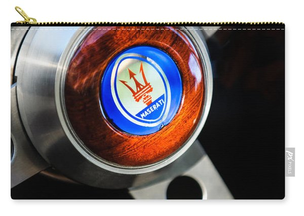 1967 Maserati Ghibli Steering Wheel Carry-all Pouch